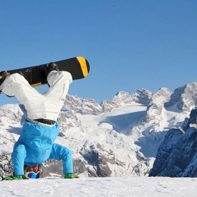 Snowboarding is a feeling of freedom ©freeride-alpin