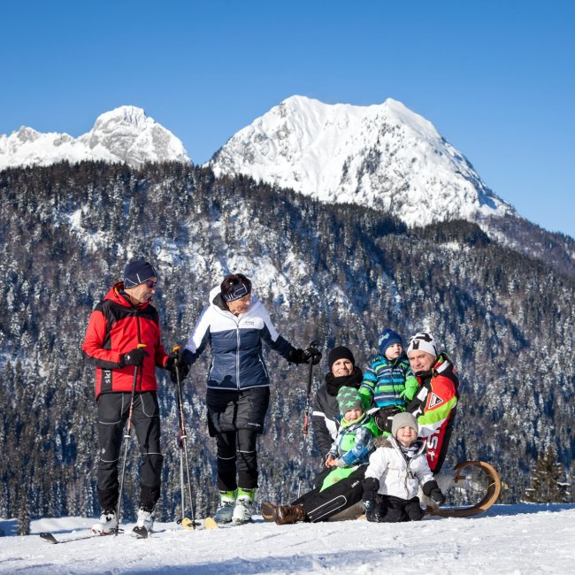 Winter activities in Salzburg's Lammertal valley