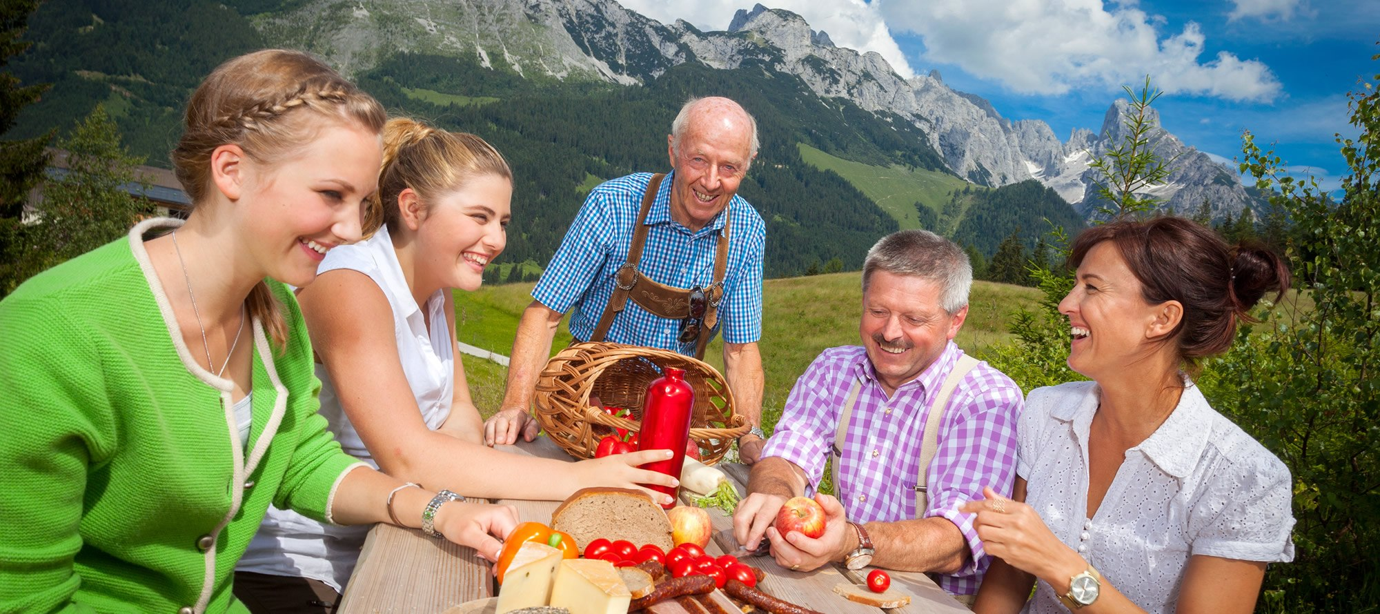 Whether hearty alpine snack or gourmet menu - the Lammeral tastes great ©TVB Annaberg-Lungötz