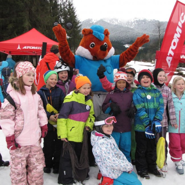 Fuxi is the funny mascot of the skischool freeride-alpin  ©TVB Annaberg-Lungötz