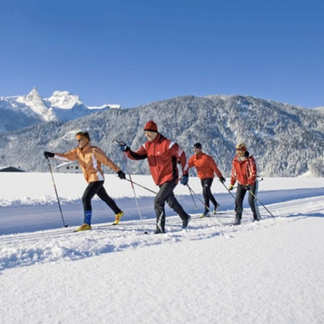 Cross-country skiing holiday in Annaberg im Salzburger Land